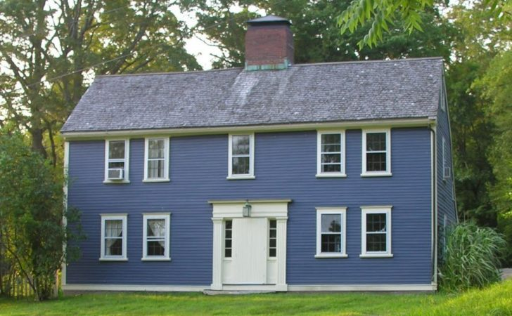 Panoramio Sherborn Colonial House Saltbox