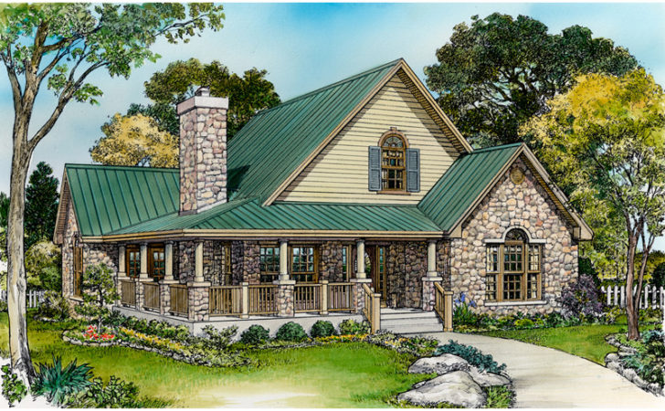 Parsons Bend Rustic Cottage Home Plan House