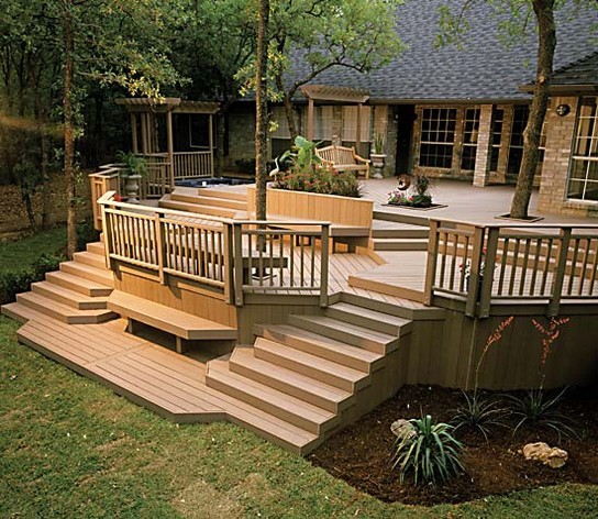 Patio Deck Railing Design Build Step
