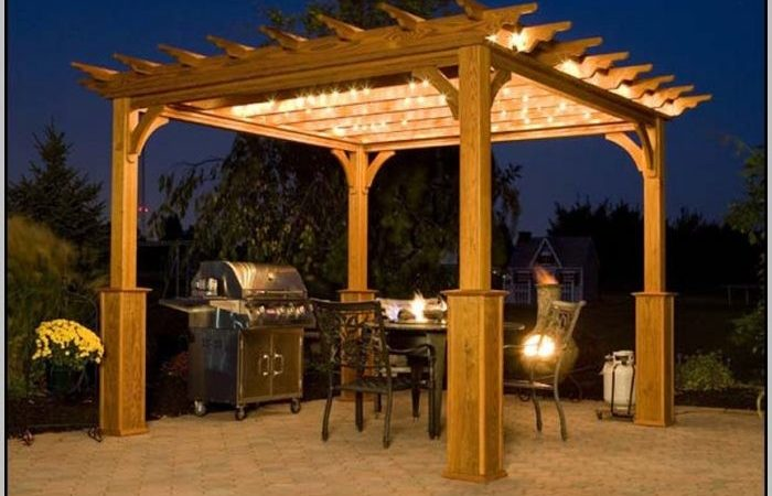Patio Pergola Plans Patios Home Decorating Ideas Hash