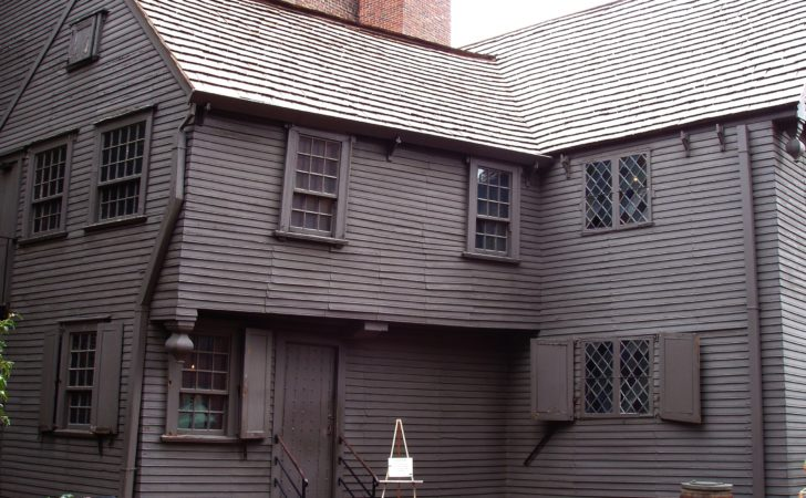 Paul Revere House Side Wikimedia Commons