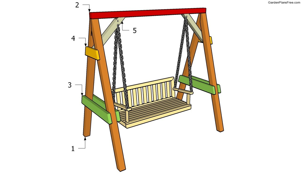 Pdf Diy Wooden Garden Swing Bench Plans Woodproject