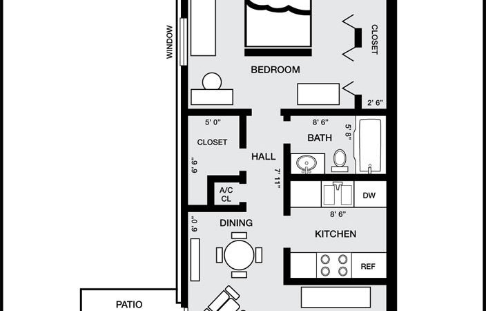 Pensacola Apartment Floor Plans