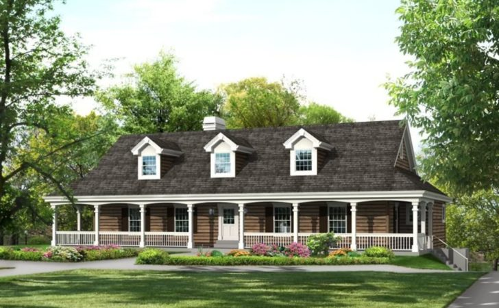 Perfect Farm Style House Plans Wrap Around Porch