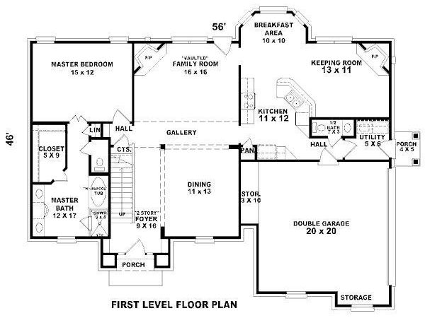 Perfect Ideas Bedroom Modern House Plans
