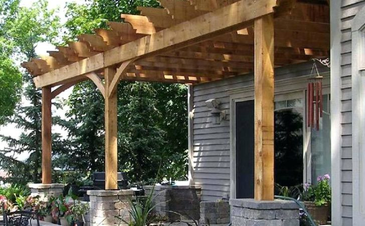 Pergola Attached House Plans Kits Healthfestblog