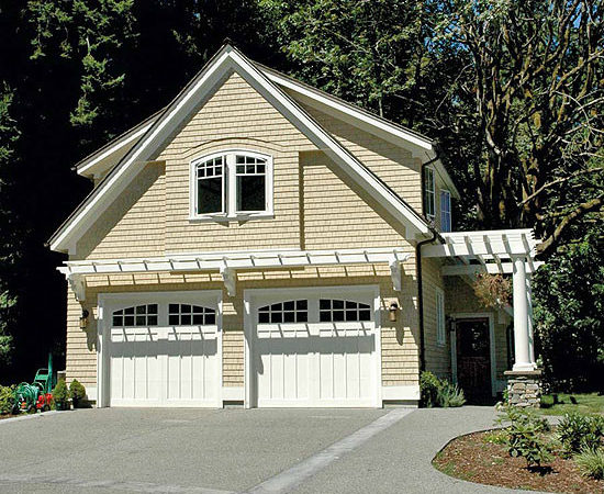 Pergola Design Ideas Over Garage Door Stunning