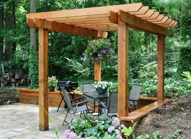 Pergola Plans Diy Ideas Add Shaded Sitting Area
