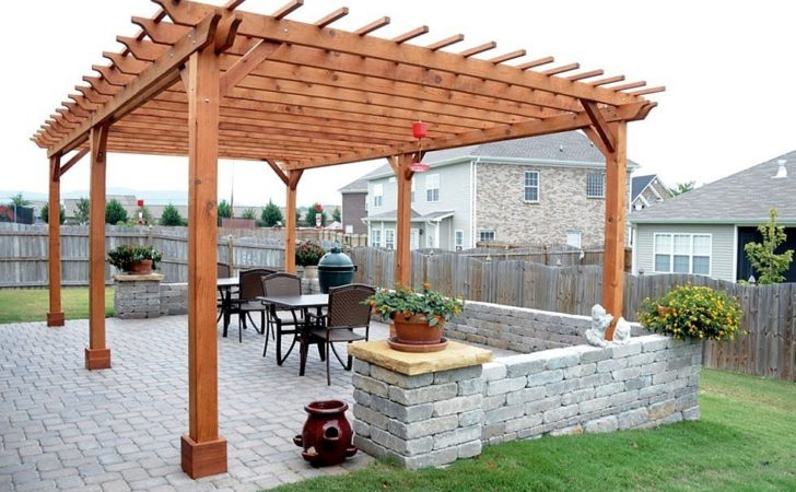 Pergola Plans Redwood Pdf Structures