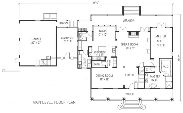 Period Style Homes Plan Sales Second Floor