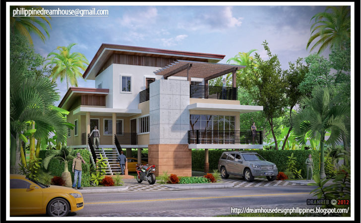Philippine Dream House Design Flood Proof