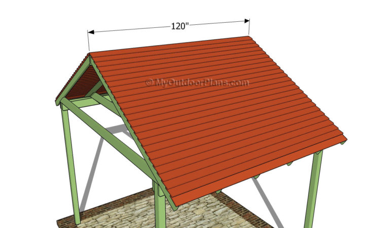 Picnic Shelter Plans Outdoor Diy Shed