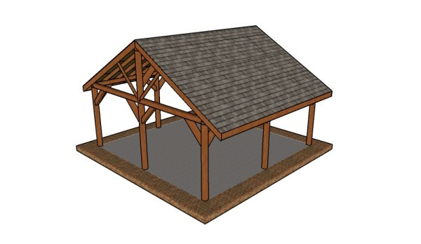 Picnic Shelter Roof Plans Myoutdoorplans