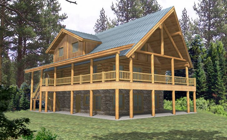 Pioneer Log Home Style Cabin