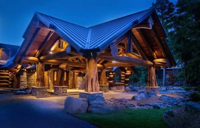 Pioneer Log Homes Handcrafted Cabin Plans