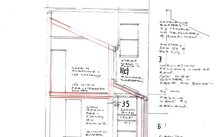 Pitched Roof House Plans Modern