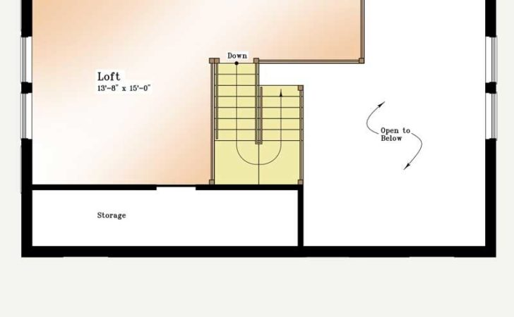 Plan Chalet Loft Thermobuilt Homes