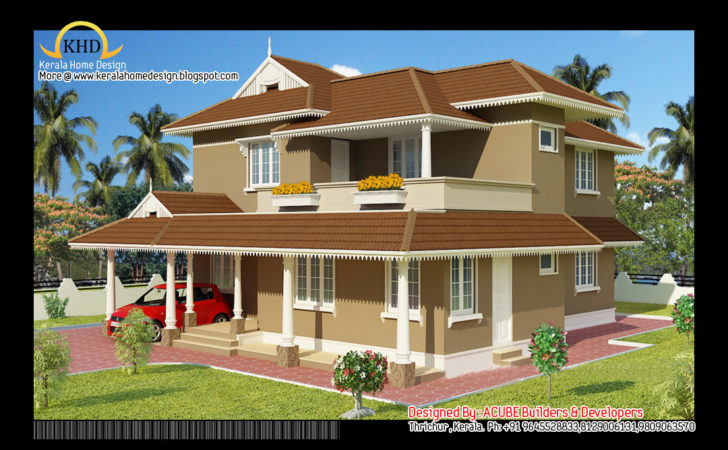 Plan Elevation Duplex Houses Joy Studio Design