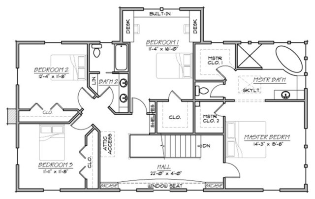 Plan Farmhouse Traditional Floor Other
