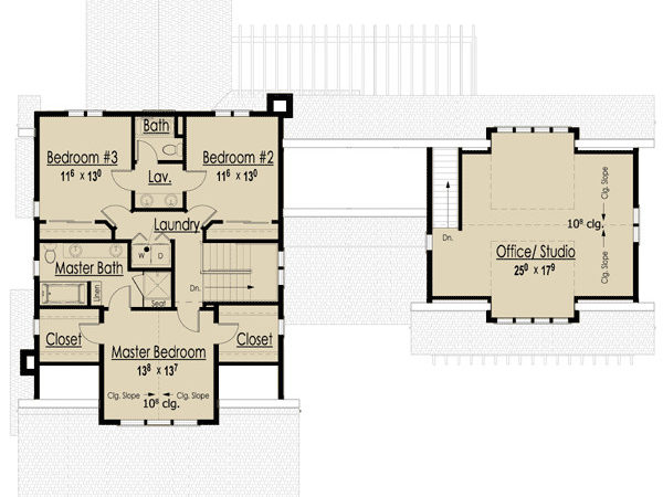 Plan Storybook Bungalow Joy Studio Design