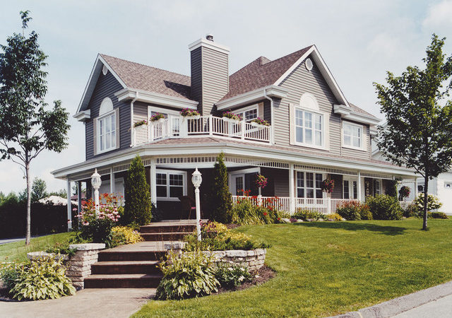 Plan Traditional Exterior Louis