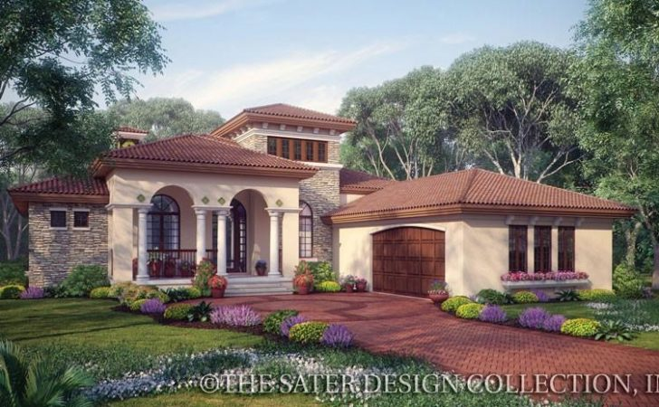 Plan Week One Story House Plans Sater Design