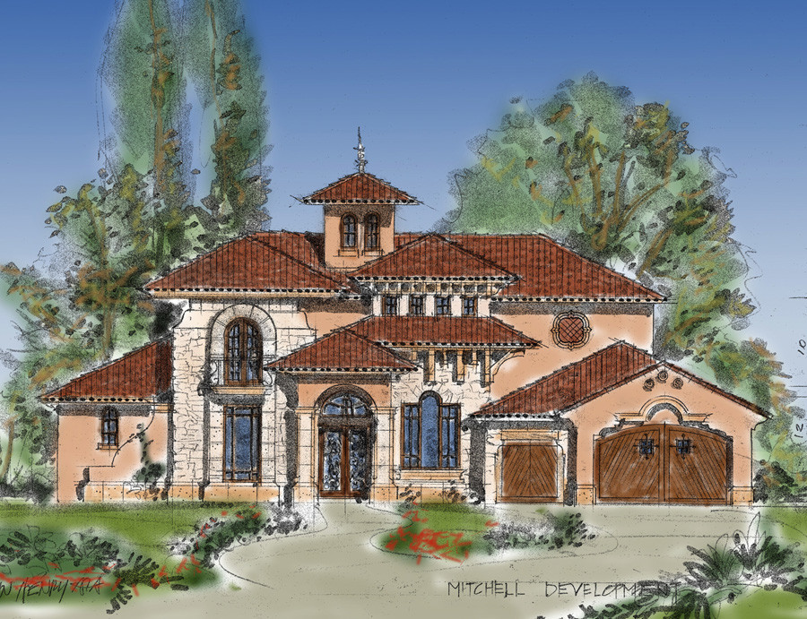 Planning Design Tuscan Mediterranean Warm