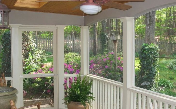 Planning Ideas Picking Materials Screened Porch