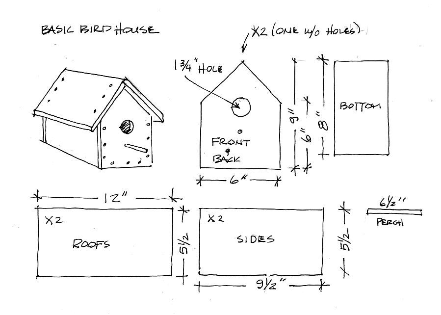 Plans Build Birdhouses Floor