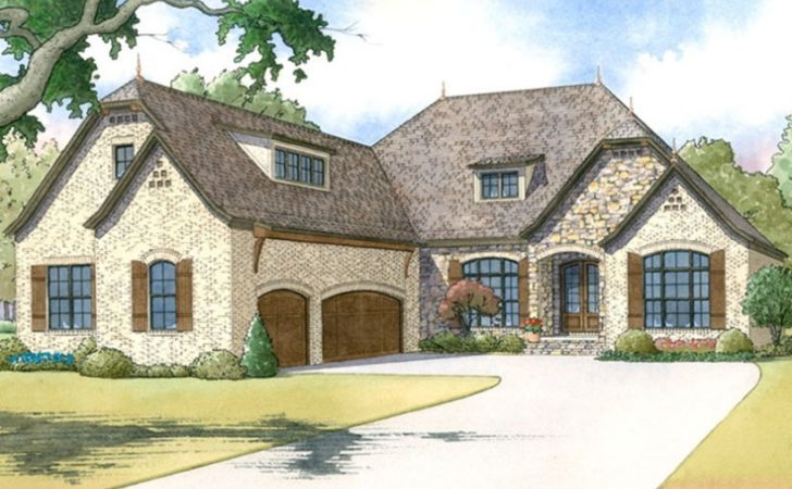 Plans European House Plan Ranch Finished Walkout