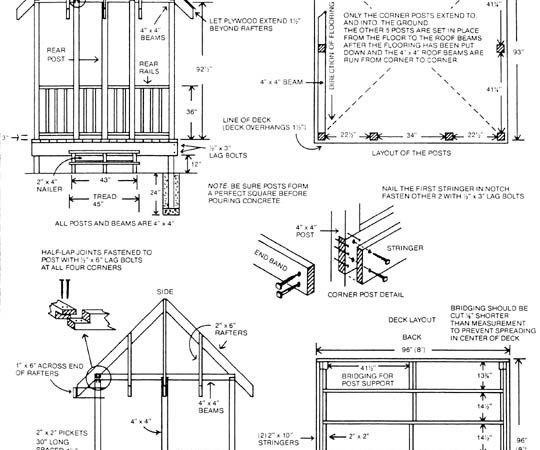 Plans Gazebo Best Way Build Lean Shed