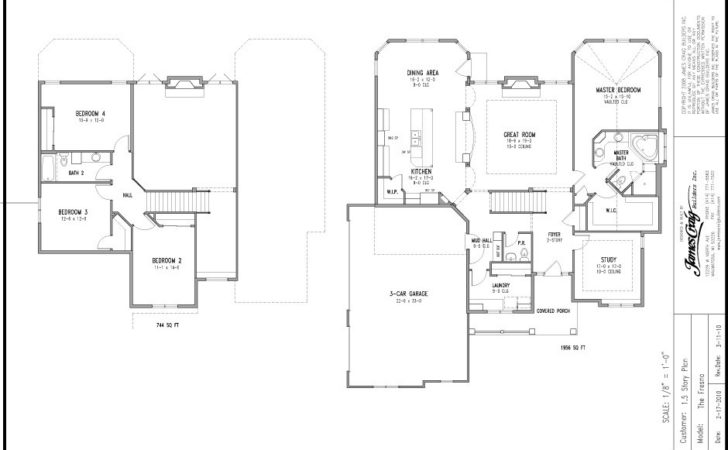 Plans Plan House Bedroom Story Circular