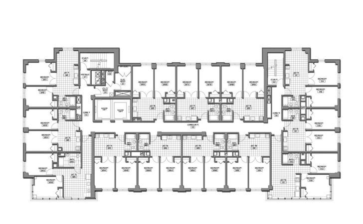 Plans Student Residence Bumc