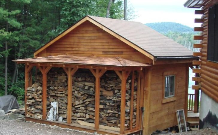 Plans Wood Storage Shed Post Beam