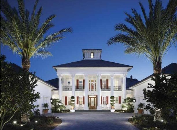 Plantation Style House Plans Neoclassical Home