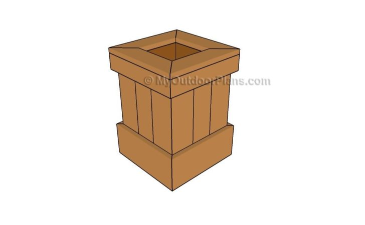 Planter Box Plans Outdoor Diy Shed Wooden