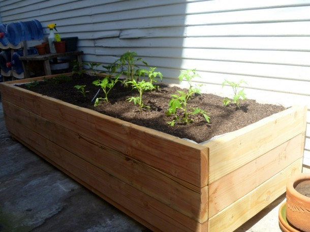 Planters Amusing Wooden Planter Box Diy