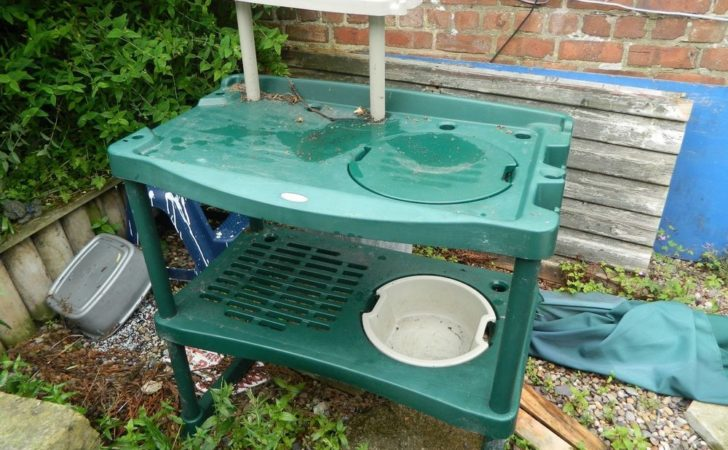 Plastic Garden Greenhouse Shed Potting Bench