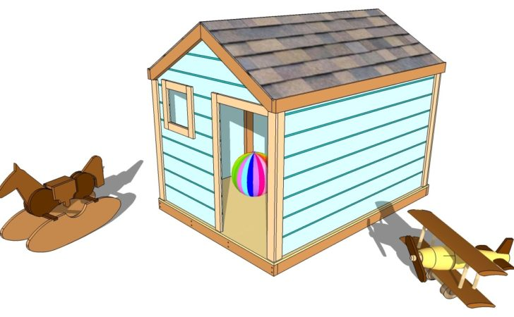 Playhouse Building Plans Diy Coop Shed