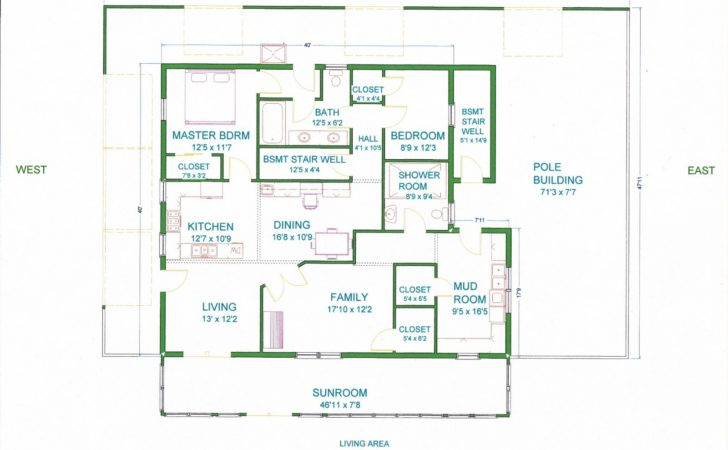 Pole Barn House Floor Plans Vip