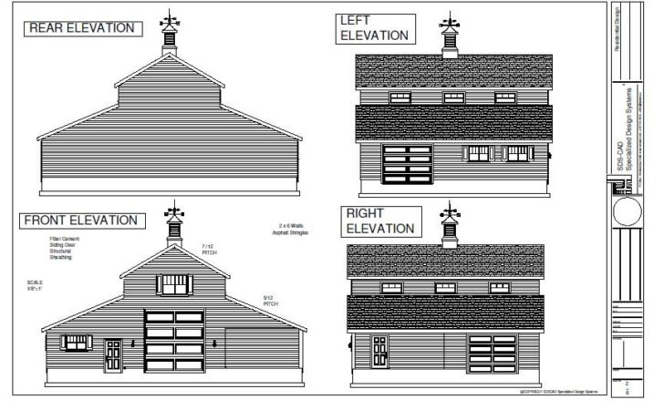 Pole Barn Plans Reviews Blueprints