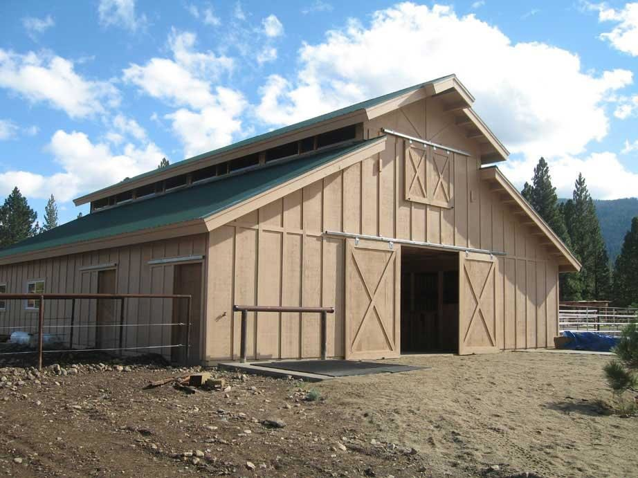 Pole Barn Roof Design Plans Build Firewood
