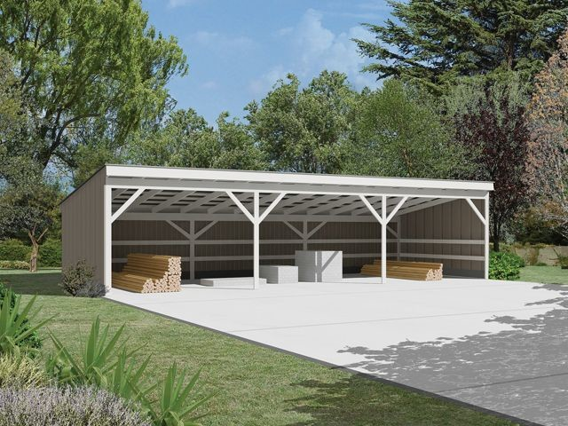 Pole Shed Designs Build Affordable