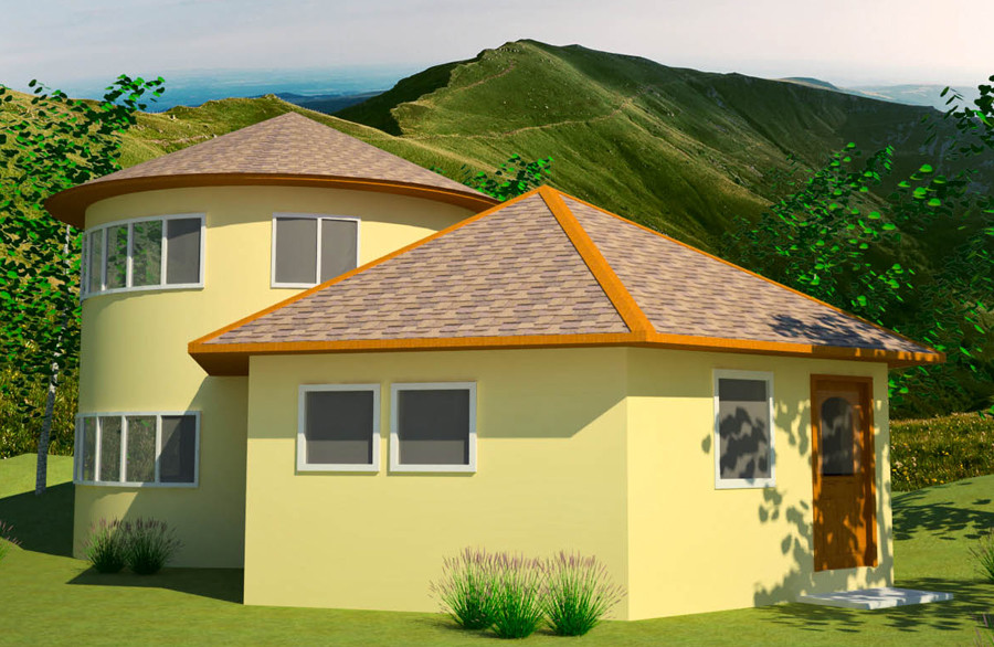 Polygonal Hexagonal Etc Earthbag House Plans