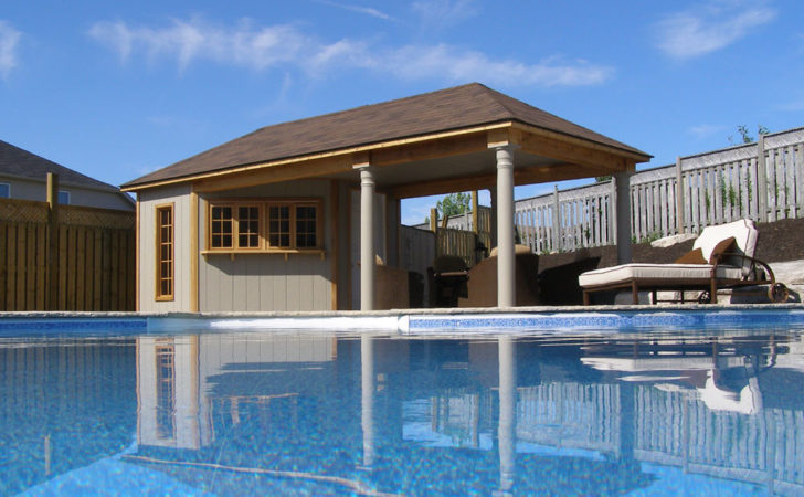 Pool Cabana Plans Perfect Relaxing