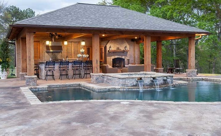 Pool House Designs Outdoor Solutions Jackson