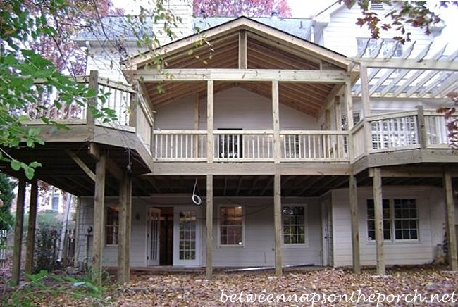 Porch Designs Ideas Build Two Story Double