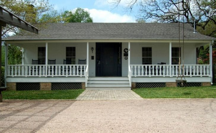 Porch Ranch Style House Small Front Designs Plans