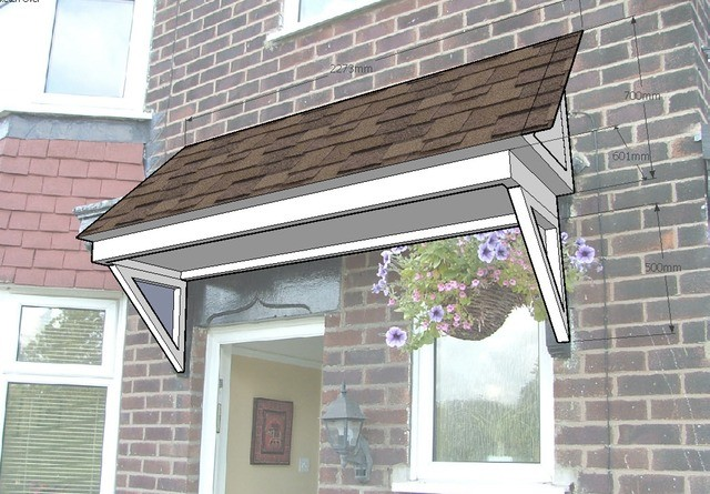 Porch Roof Design Urmstonhandyman Lee