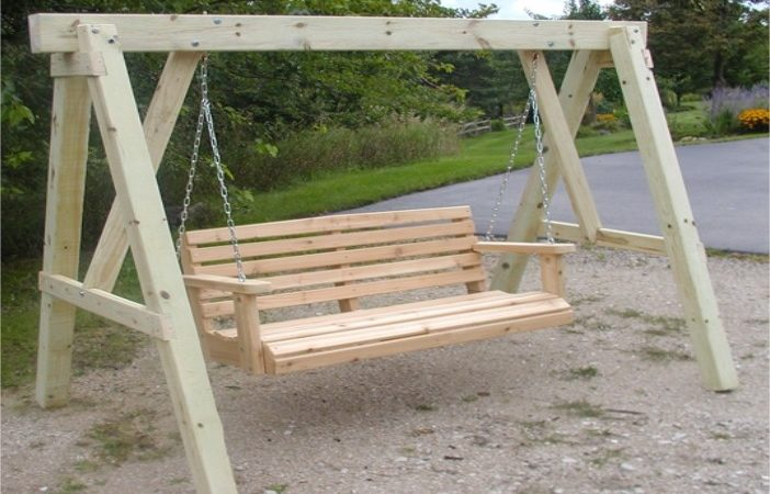 Porch Swing Frame Plans Mag